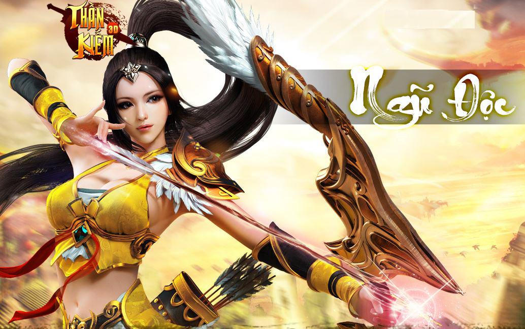 Tặng 315 giftcode game Thần Kiếm 3D 3