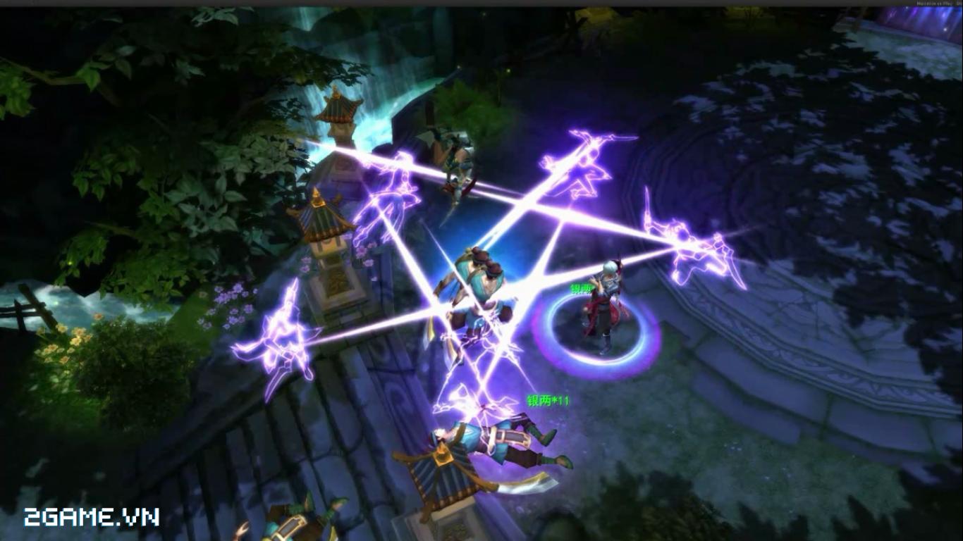Bất ngờ xuất hiện bản game Võ Lâm Ngoại Truyện mobile phong cách ARPG 7