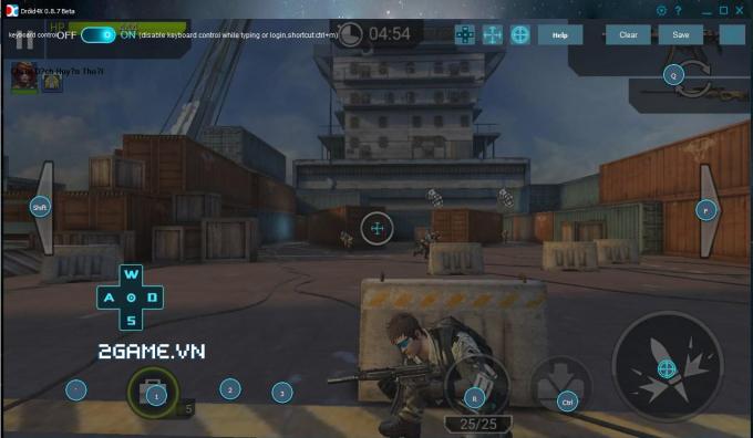 Hướng dẫn chơi Chiến Dịch Huyền Thoại trên PC như Đột Kích 0