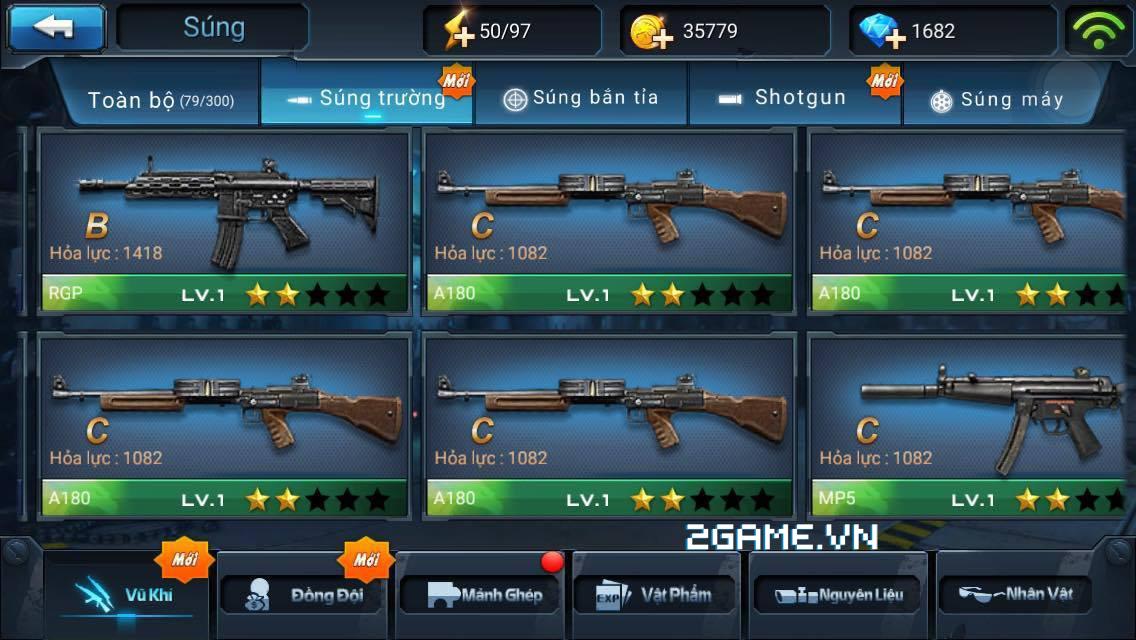 Chiến Dịch Huyền Thoại: Màu súng ảnh hưởng thế nào đến sức mạnh của súng 1