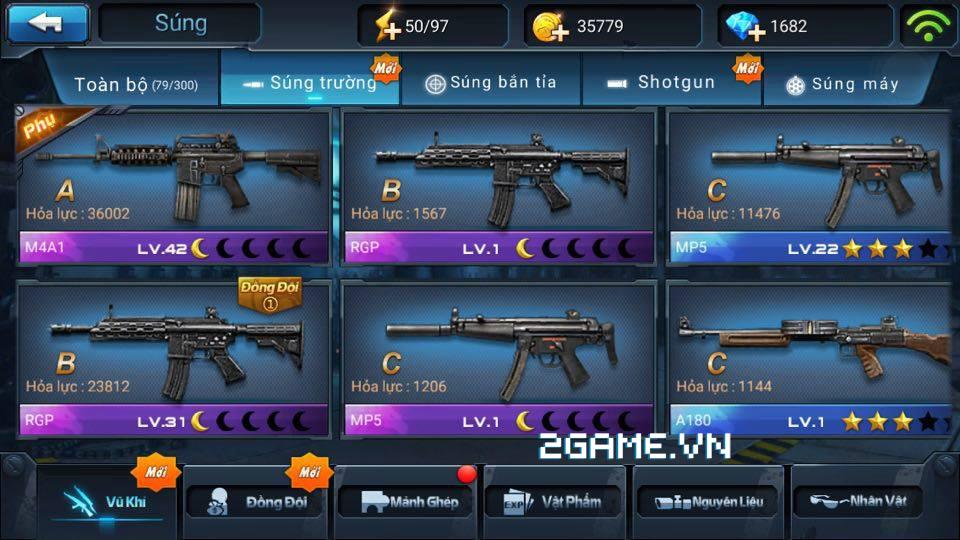 Chiến Dịch Huyền Thoại: Màu súng ảnh hưởng thế nào đến sức mạnh của súng 3