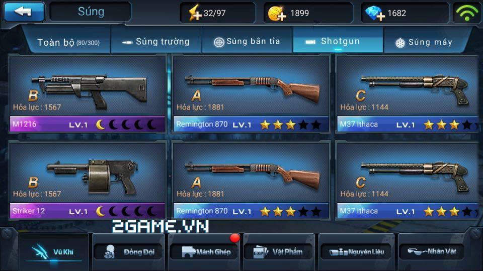 Chiến Dịch Huyền Thoại: Tìm hiểu về súng Shotgun 0