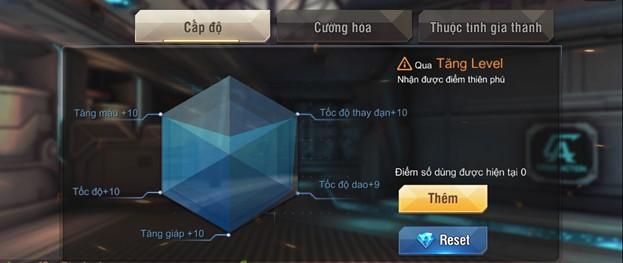 Tập Kích mobile: Tìm hiểu tính năng Thiên phú độc nhất trong game bắn súng 0