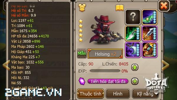 DotA Truyền Kỳ - Tìm hiểu tướng Helsing