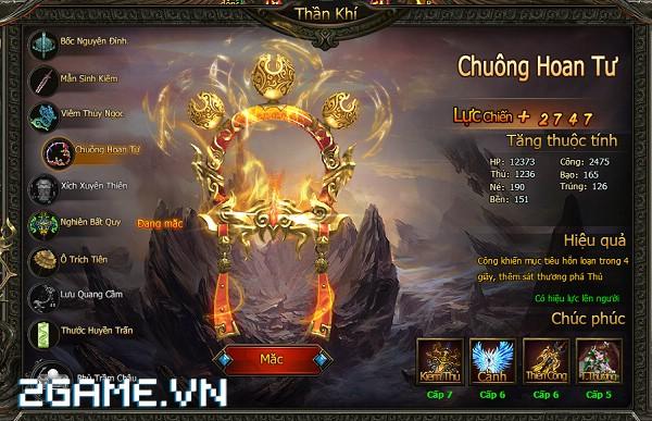 Hoa Thiên Cốt Web - Hướng dẫn sử dụng Thần Khí 4