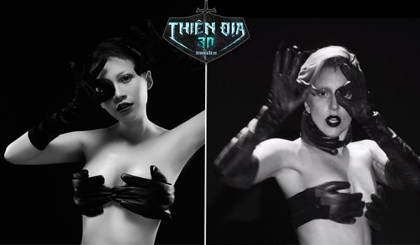 Ngắm Admin Thiên Địa 3D hóa Lady Gaga giới thiệu Big Update 0