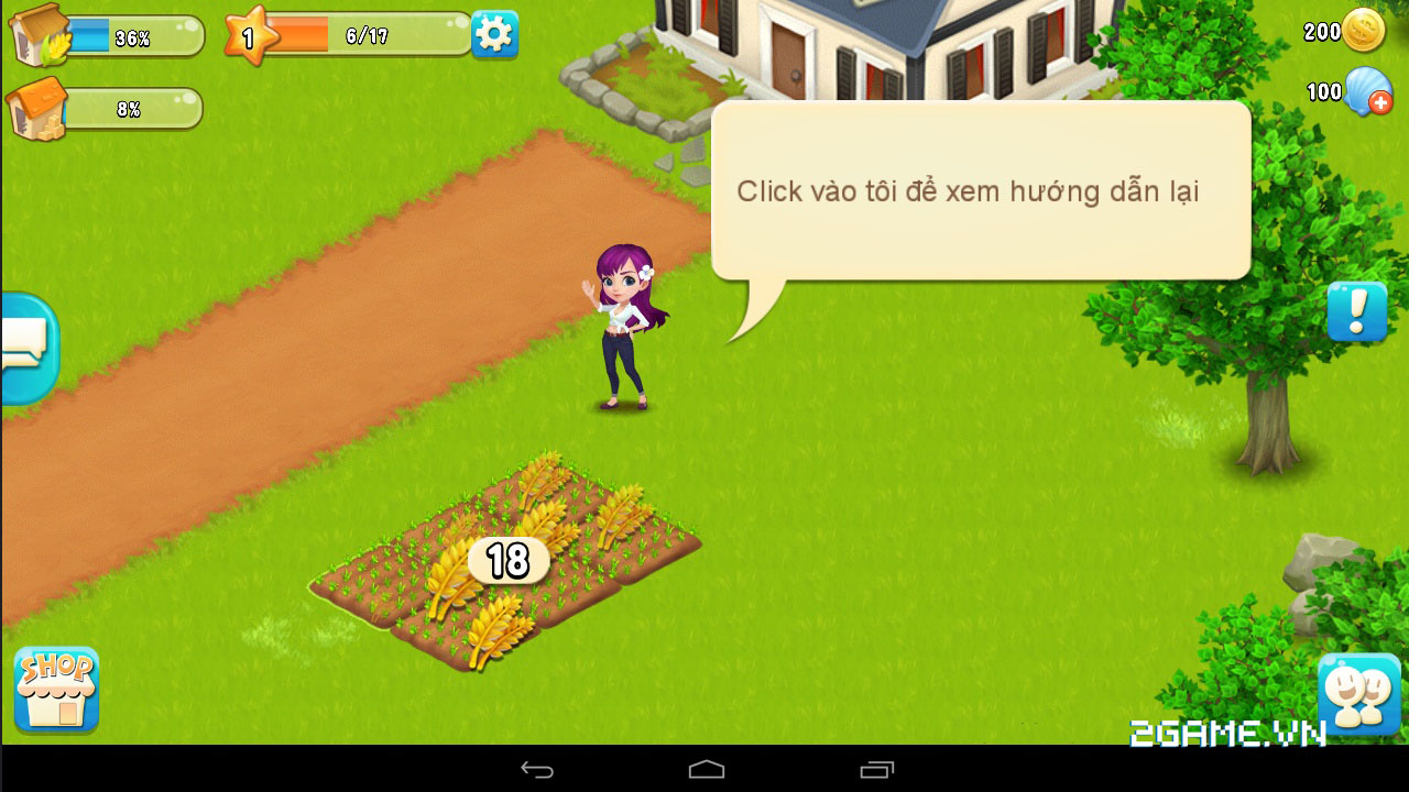 Chạm vào game Vườn Vui Vẻ 3V bản Việt hóa 9
