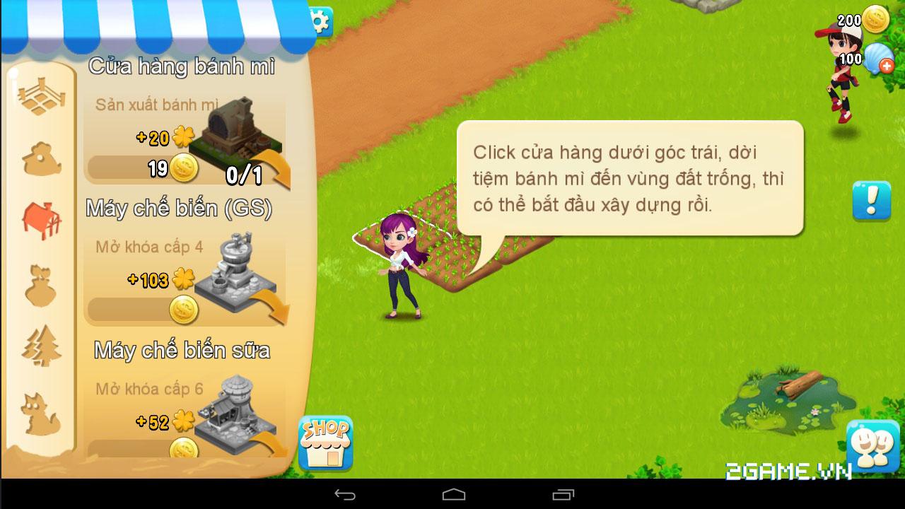 Chạm vào game Vườn Vui Vẻ 3V bản Việt hóa 10