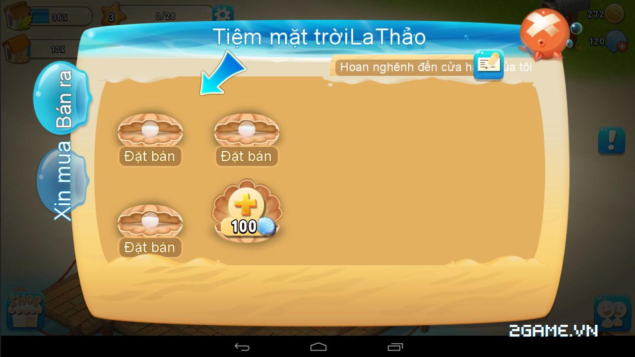 Chạm vào game Vườn Vui Vẻ 3V bản Việt hóa 13