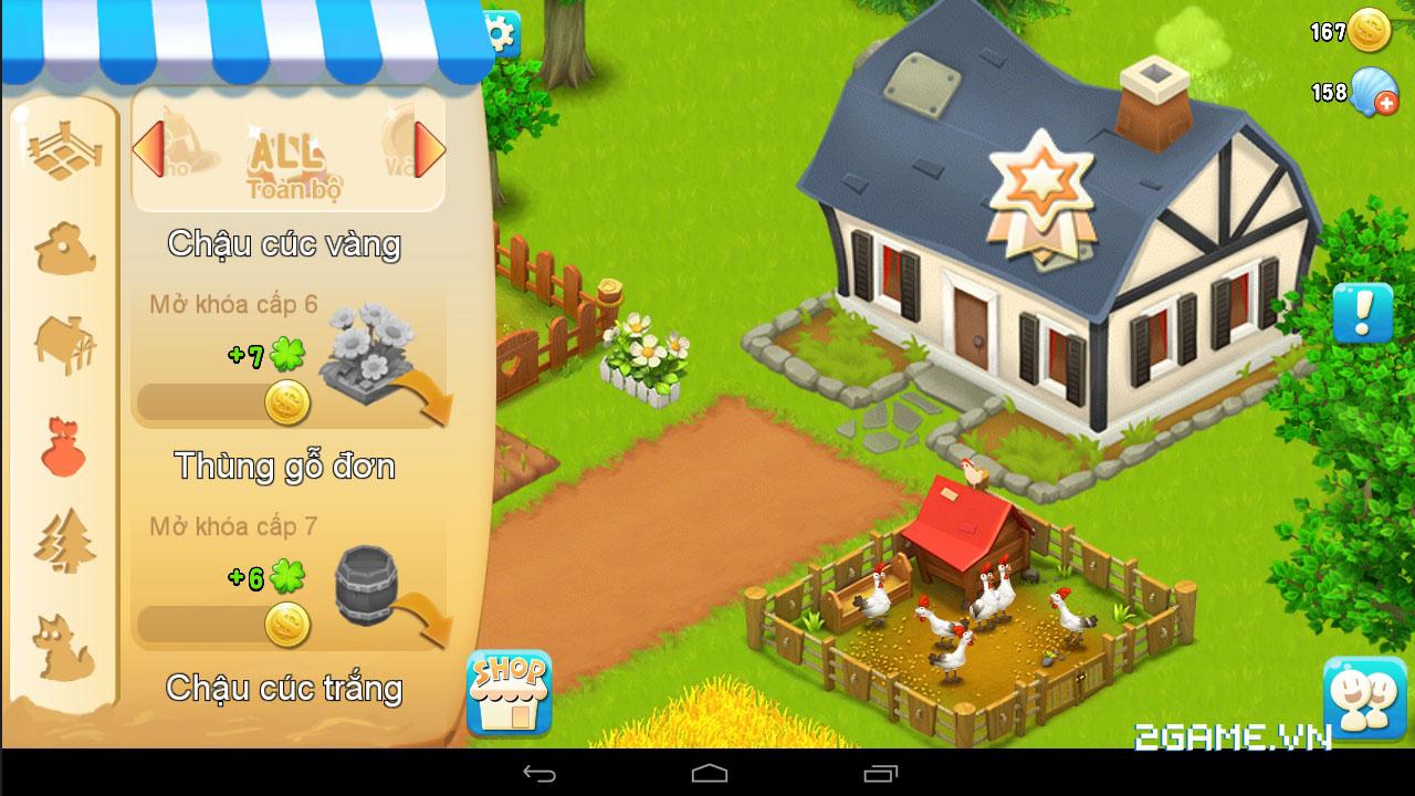 Chạm vào game Vườn Vui Vẻ 3V bản Việt hóa 3