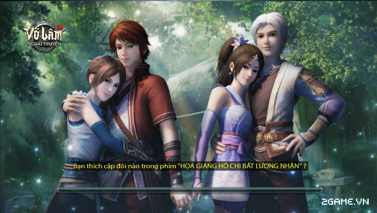 Võ Lâm Ngoại Truyện mobile - Game chuyển thể từ phim hoạt hình 3D nổi tiếng 1