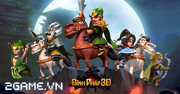 Binh Pháp 3D – Game mobile chiến thuật Tam Quốc ngộ nghĩnh cập bến Việt Nam 0