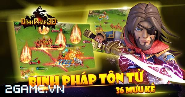 Binh Pháp 3D – Game mobile chiến thuật Tam Quốc ngộ nghĩnh cập bến Việt Nam 7