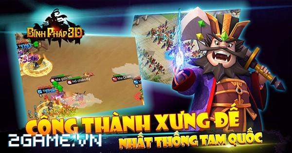 Binh Pháp 3D – Game mobile chiến thuật Tam Quốc ngộ nghĩnh cập bến Việt Nam 8