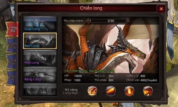 Mộng Vương Quyền cho phép người chơi điều khiển Rồng chiến đấu như thật 0
