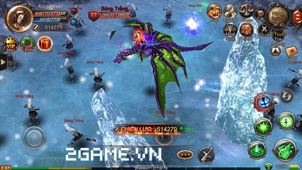 Mộng Vương Quyền cho phép người chơi điều khiển Rồng chiến đấu như thật 2
