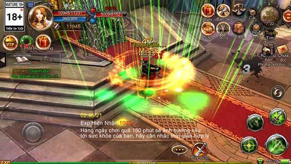 Mộng Vương Quyền cho phép người chơi điều khiển Rồng chiến đấu như thật 3