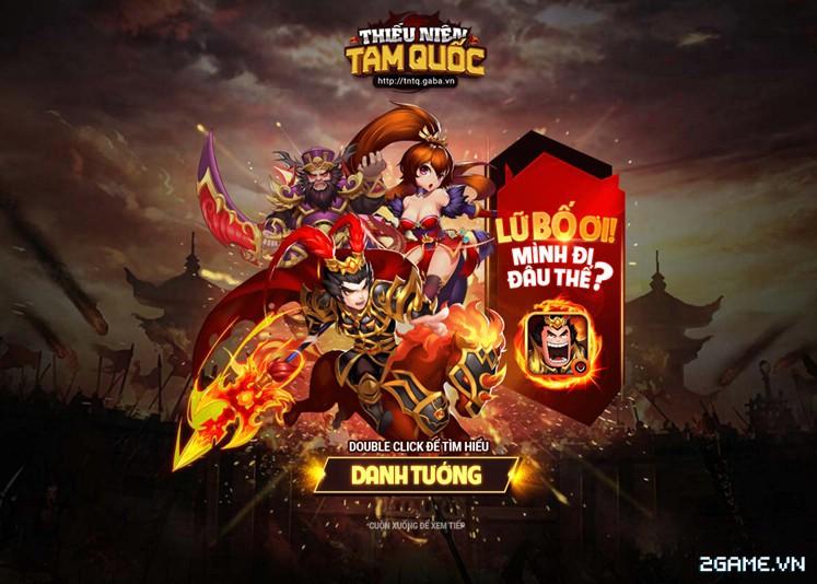 Game mobile Thiếu Niên Tam Quốc chuẩn bị ra mắt game thủ Việt 0