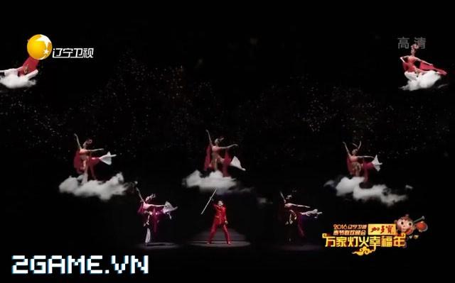 Lục Tiểu Linh Đồng đưa Tôn Ngộ Không ra đời thực bằng kỹ xảo 4D 0