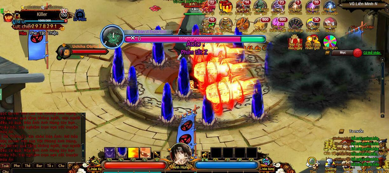 Cuồng Phong Naruto khoe mẽ 4 tính năng hút hồn người chơi 0