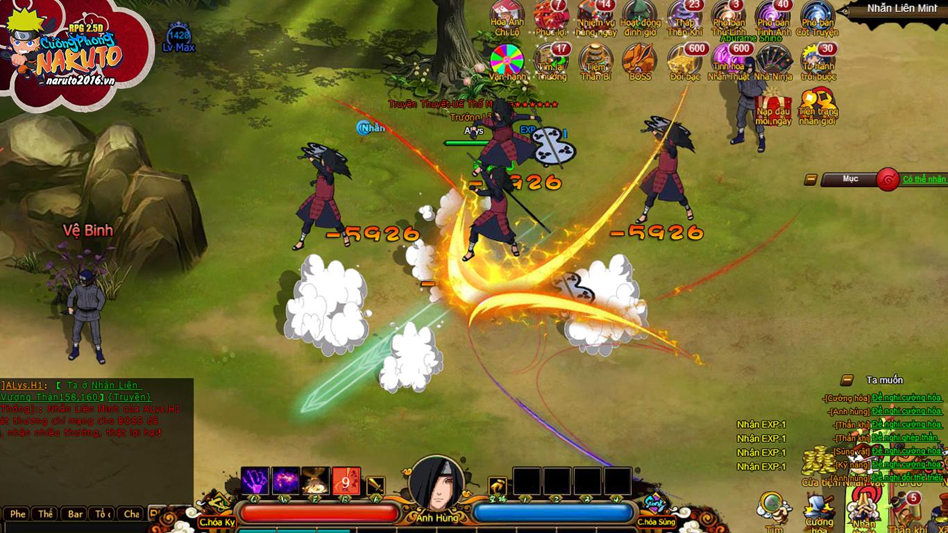 Cuồng Phong Naruto khoe mẽ 4 tính năng hút hồn người chơi 1