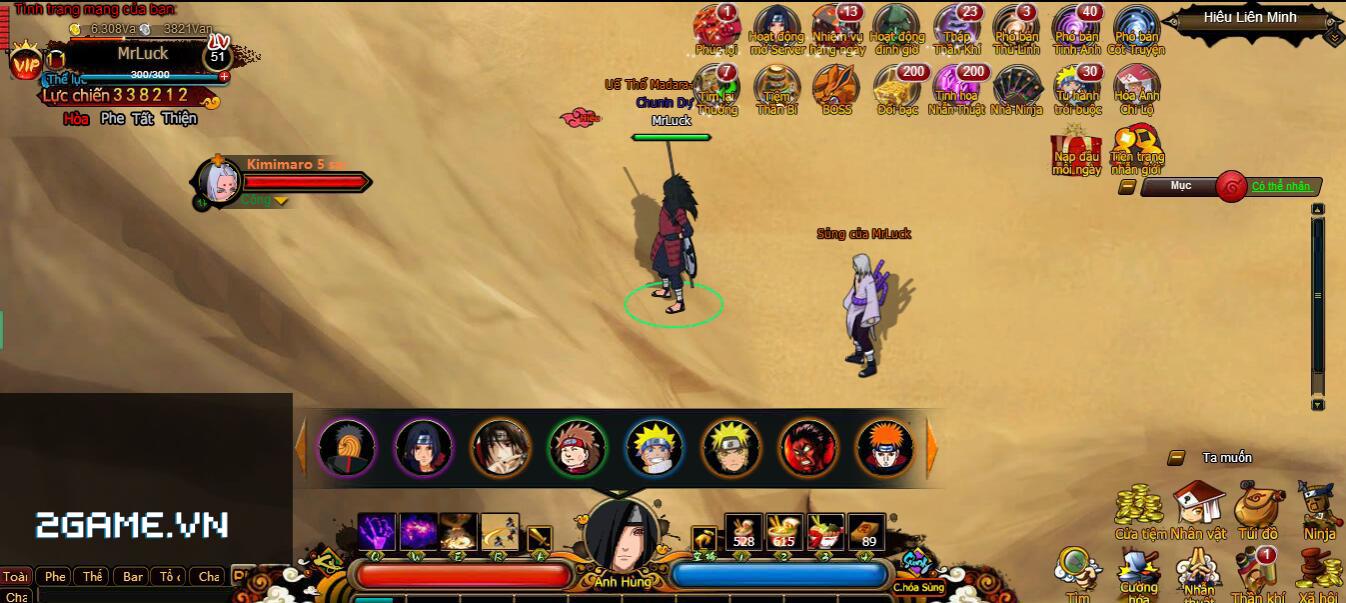 Cuồng Phong Naruto khoe mẽ 4 tính năng hút hồn người chơi 5
