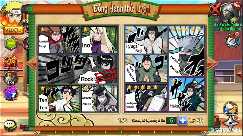 Huyền Thoại Naruto là tên Việt hóa của game mobile Dũng Sĩ Cuồng Phong 3