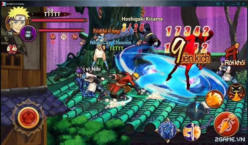 Huyền Thoại Naruto là tên Việt hóa của game mobile Dũng Sĩ Cuồng Phong 0