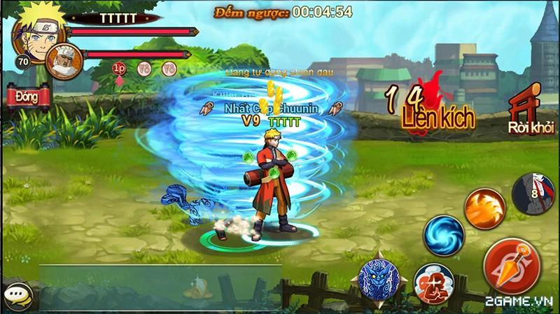 Huyền Thoại Naruto là tên Việt hóa của game mobile Dũng Sĩ Cuồng Phong 11