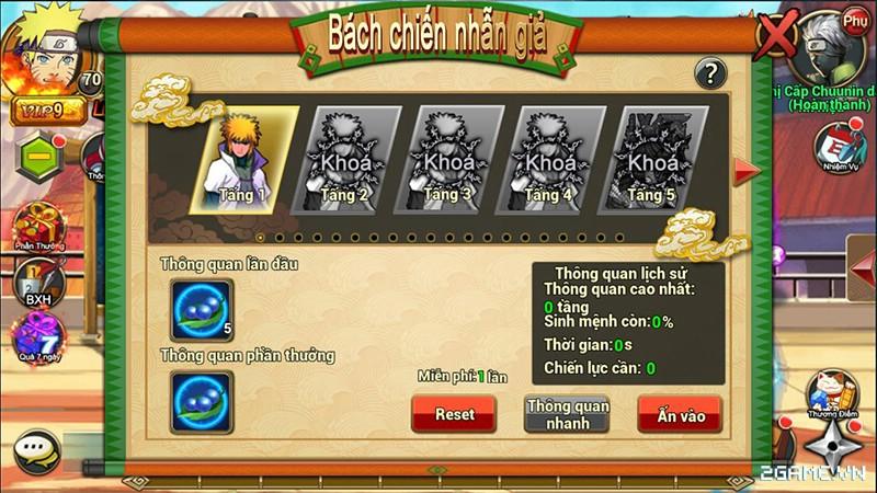 Huyền Thoại Naruto là tên Việt hóa của game mobile Dũng Sĩ Cuồng Phong 13