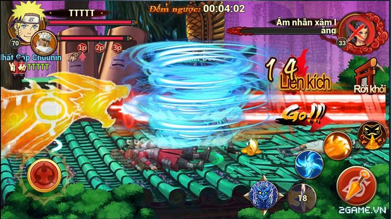 Huyền Thoại Naruto là tên Việt hóa của game mobile Dũng Sĩ Cuồng Phong 4