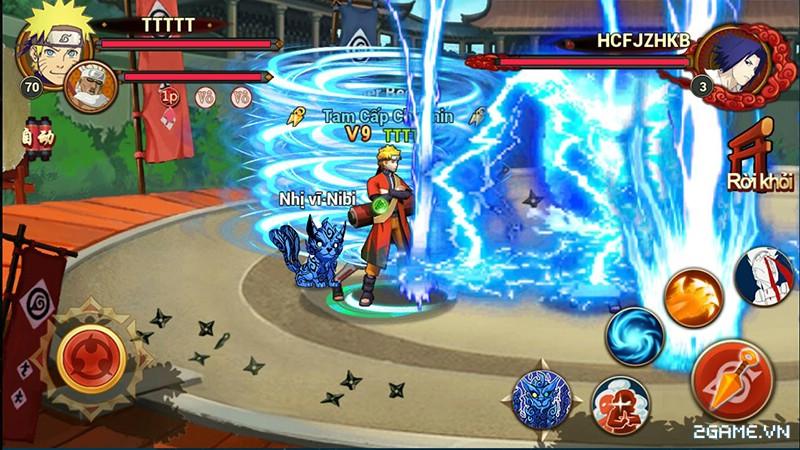Huyền Thoại Naruto là tên Việt hóa của game mobile Dũng Sĩ Cuồng Phong 1
