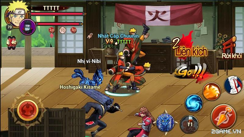 Huyền Thoại Naruto là tên Việt hóa của game mobile Dũng Sĩ Cuồng Phong 7