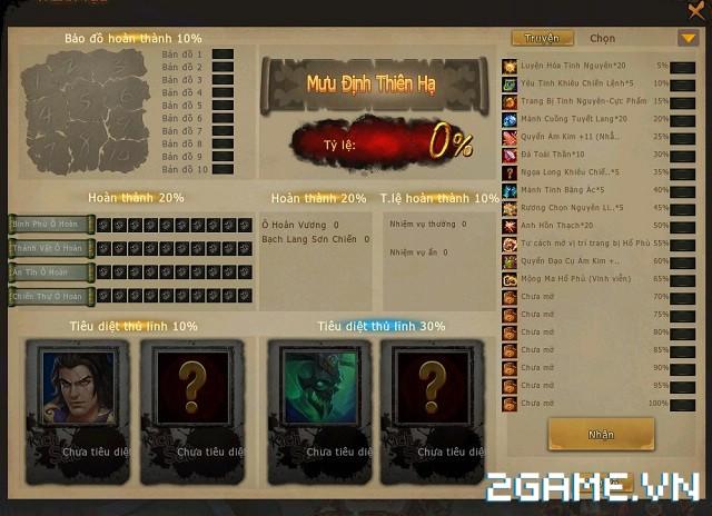 Game thủ 'đau đầu' với phó bản thành tựu của 3Q Củ Hành 3D 2