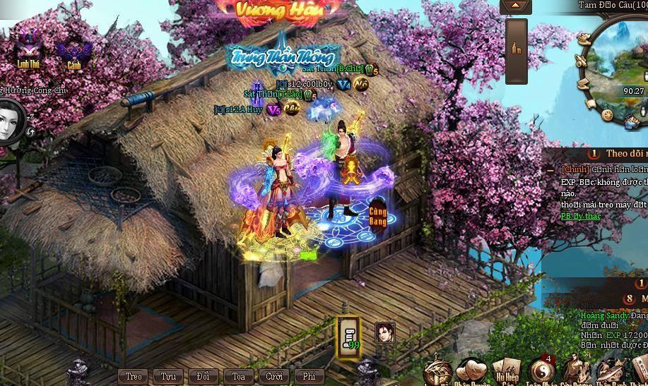 Game thủ Ngạo Kiếm Kỳ Thư vui Tết Bính Thân - Thần Tài gõ cửa 3