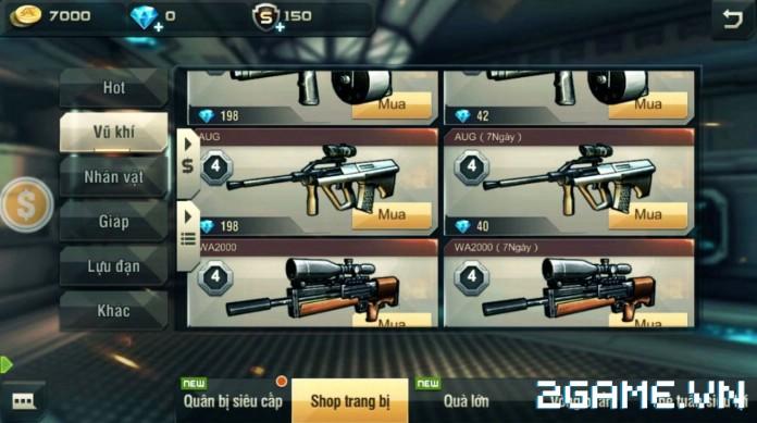 Tập Kích Mobile - Những trang bị, súng ống cực khủng được ưa chuộng hàng đầu 11