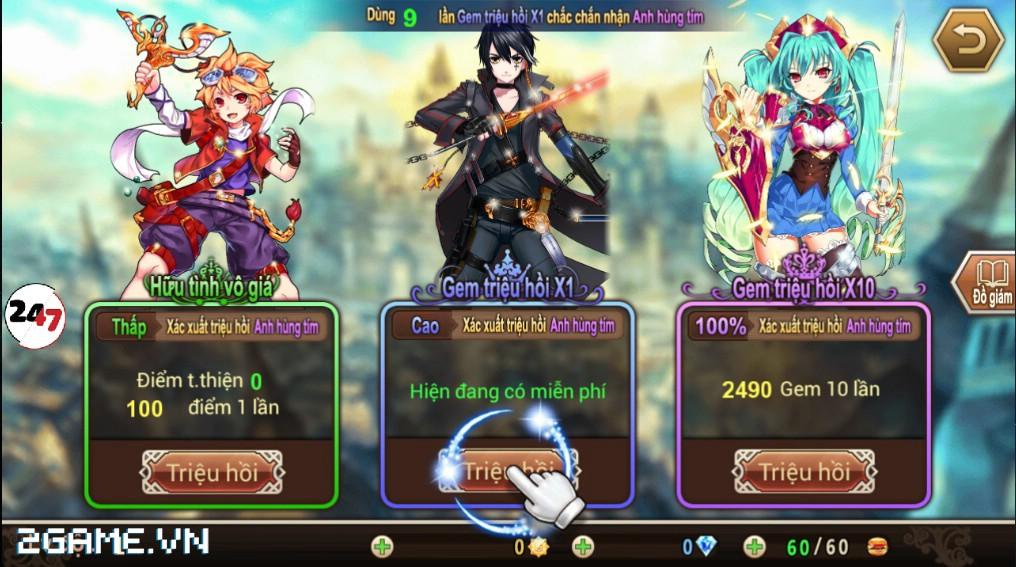 Đế Chế Manga có cơ chế chiến đấu theo lượt cao độ 4