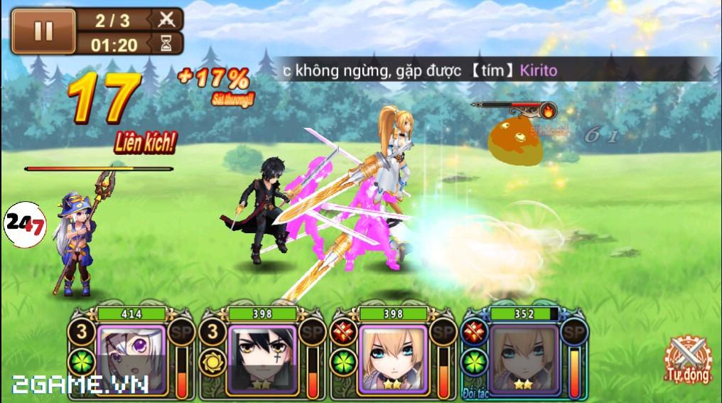 Đế Chế Manga có cơ chế chiến đấu theo lượt cao độ 3