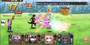 Đế Chế Manga có cơ chế chiến đấu theo lượt cao độ