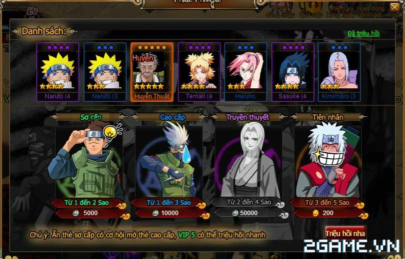 Cuồng Phong Naruto: Hướng dẫn tính năng Nhà Ninja 1