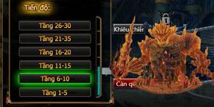 Cuồng Phong Naruto: Hướng dẫn tính năng Tháp Thần Khí