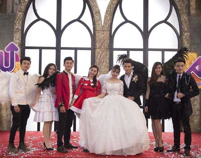 Những đám cưới đẹp như mơ bước ra từ Au Mobile 8