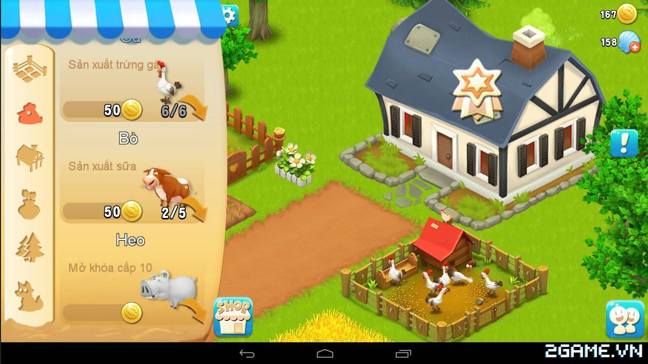 Chạm tay trải nghiệm Vườn Vui Vẻ 3V - Game nông trại sắp ra mắt tại Việt Nam 4