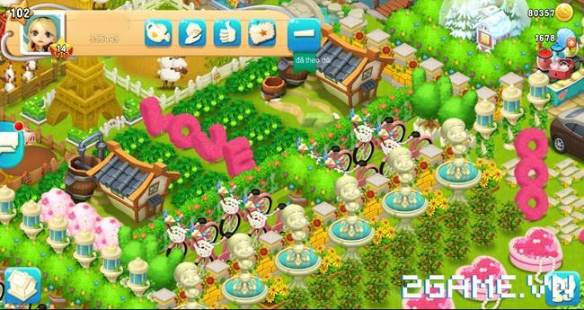 Chạm tay trải nghiệm Vườn Vui Vẻ 3V - Game nông trại sắp ra mắt tại Việt Nam 7