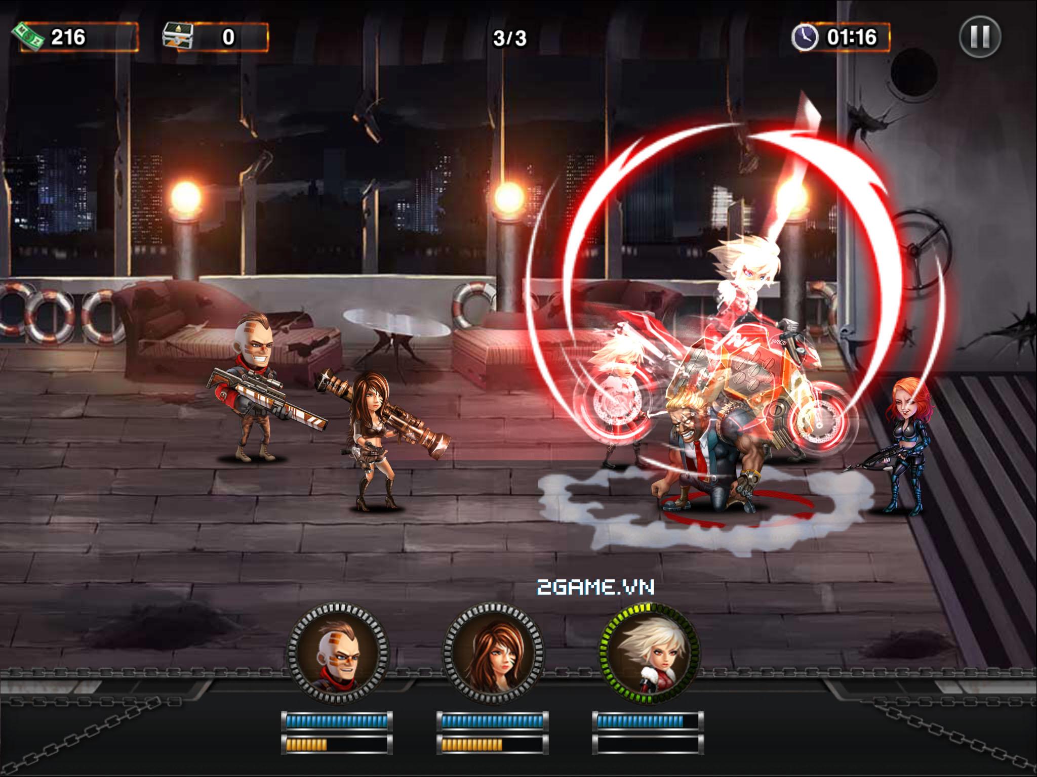 Mad Zone - Game mobile xứ Nhật sắp ra mắt tại Việt Nam 2