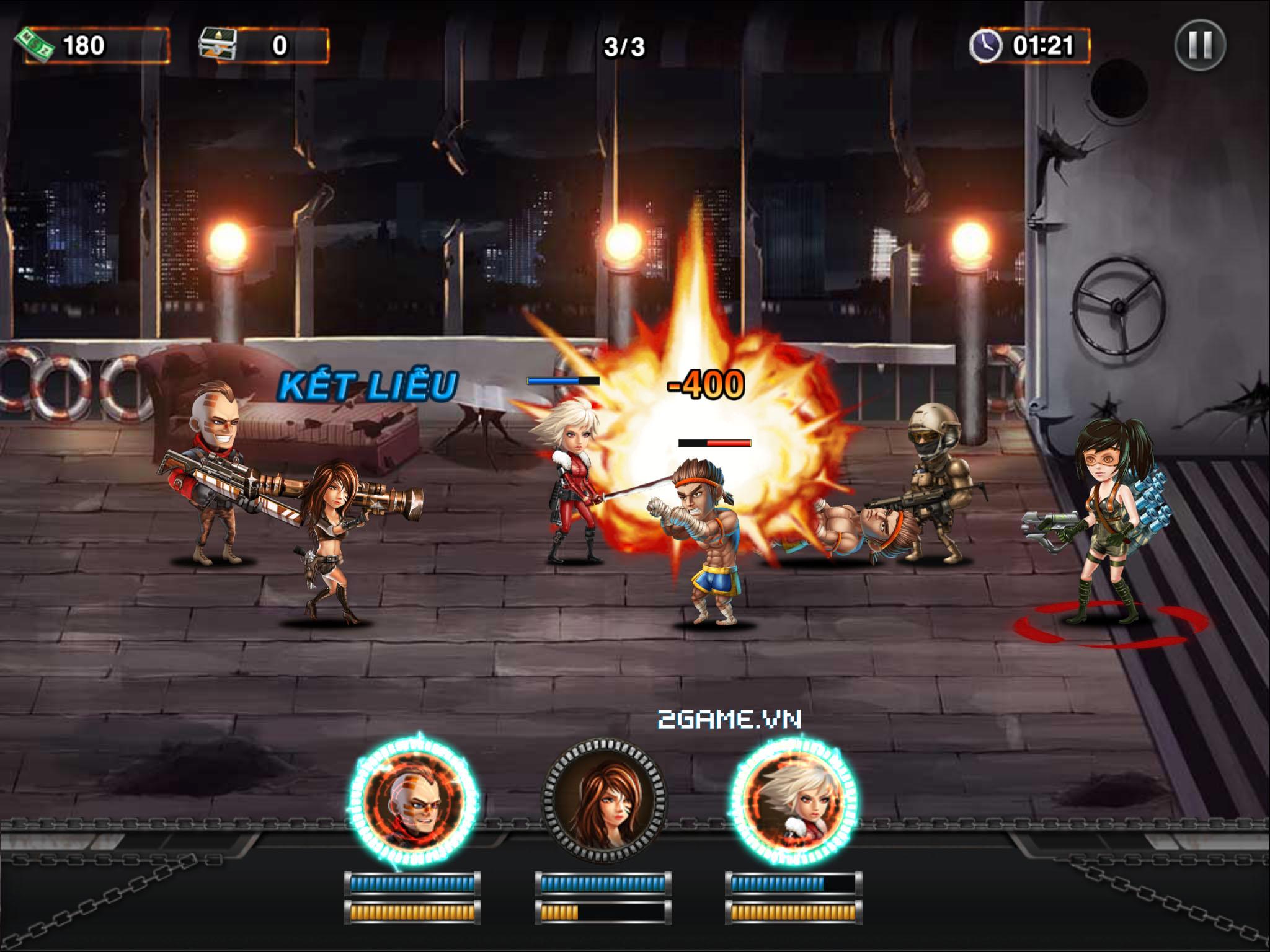 Mad Zone - Game mobile xứ Nhật sắp ra mắt tại Việt Nam 3
