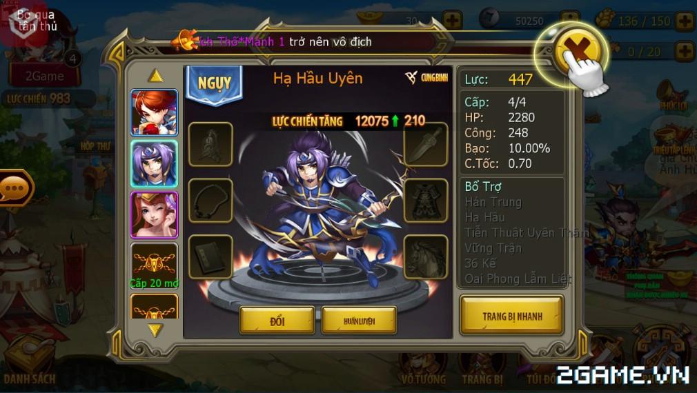 Game mobile Thiếu Niên Tam Quốc tạo ấn tượng với người chơi nhờ gameplay thú vị 8