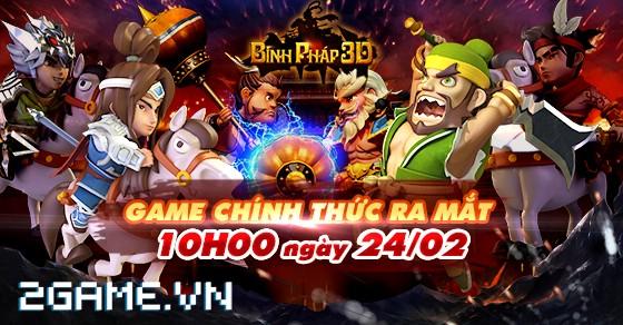 Tặng 310 Vipcode game Binh Pháp 3D 0