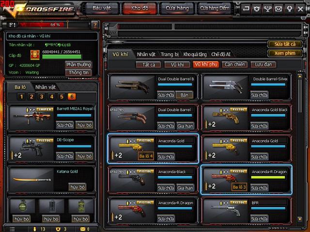 Game thủ Đột Kích bất ngờ được VTC Game tặng full kho súng lục báu vật 1