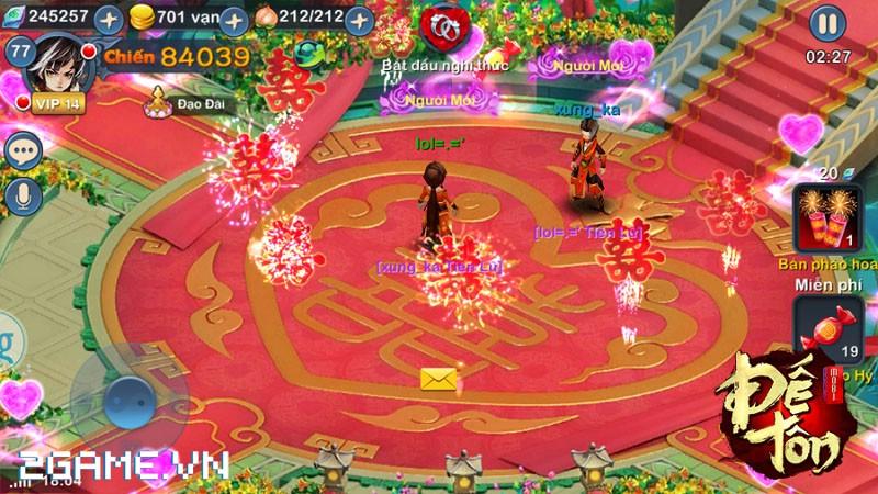 Game thủ được phép kết hôn đồng giới trong Đế Tôn Mobi 2